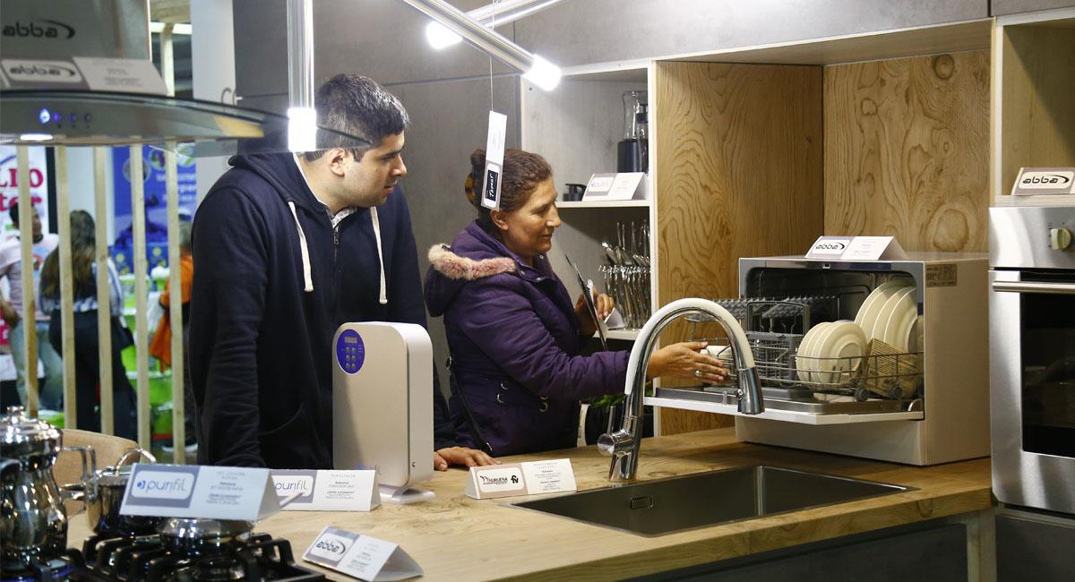 Los productos para el hogar hacen parte de las promociones. Foto: Cortesía