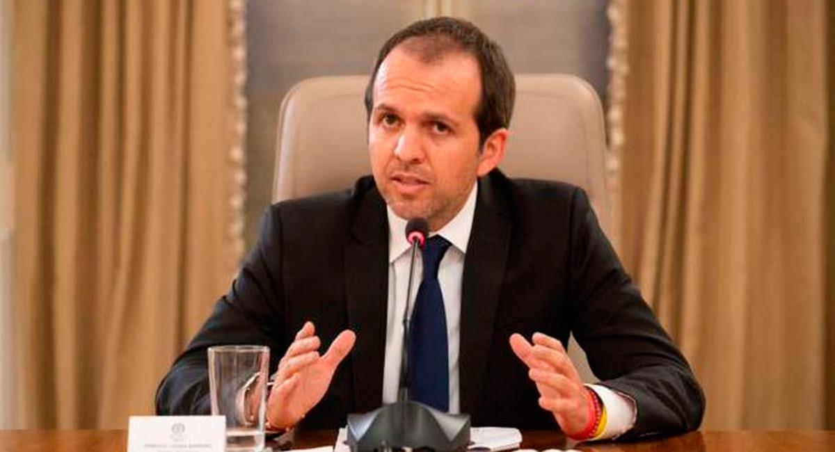 Ernesto Lucena, Ministro del Deporte de Colombia. Foto: Prensa MinDeporte