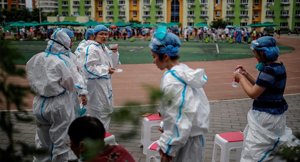 China fue el primer país en detectar el COVID-19. Foto: EFE