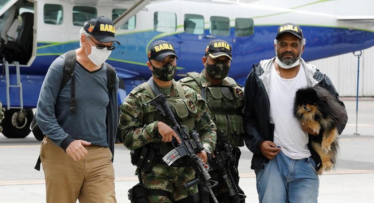Dos secuestrados por FARC fueron liberados en el Cauca