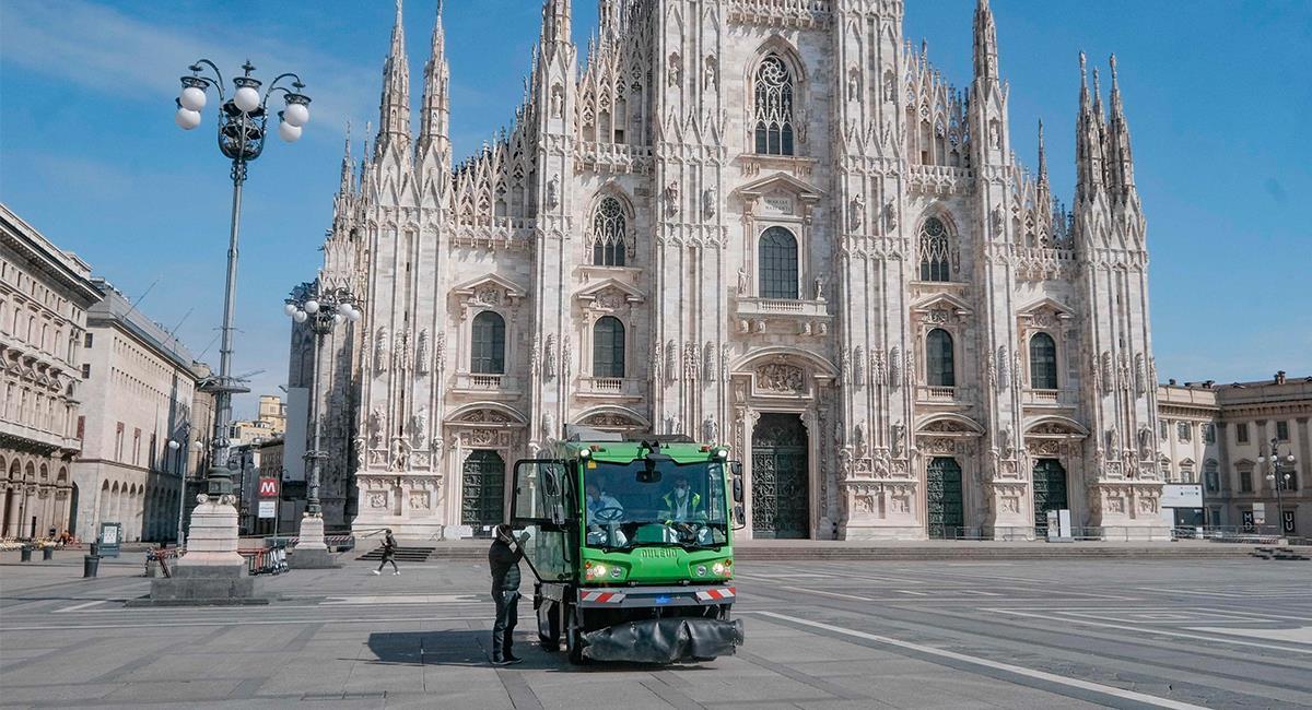 Italia es uno de los países más afectados por el COVID-19. Foto: EFE