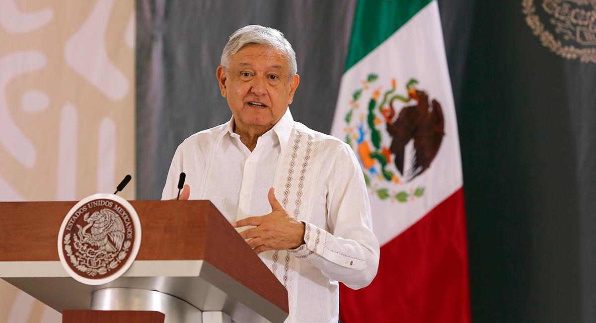 López Obrador también ha sido criticado por su manejo de la pandemia del COVID-19. Foto: EFE