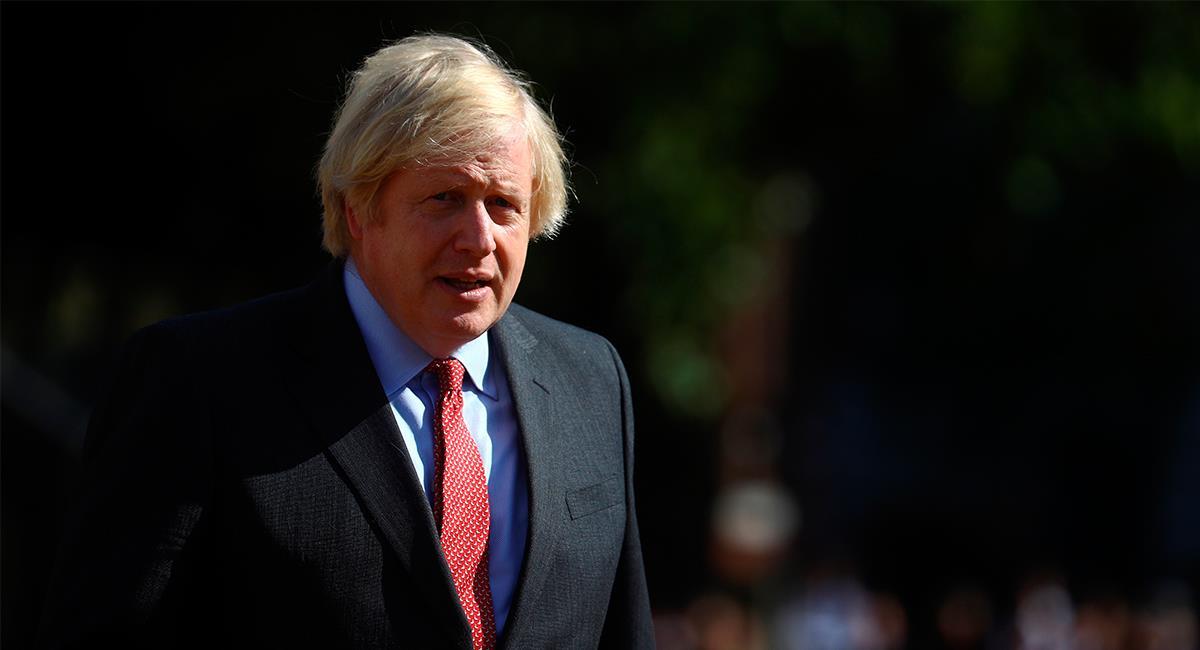 Boris Johnson fue uno de los mandatarios más incrédulos frente al COVID-19. Foto: EFE
