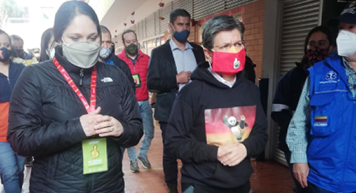 La alcaldesa de Bogotá, Claudia López criticó la medida del 'Día sin IVA'. Foto: Twitter @Angelammt