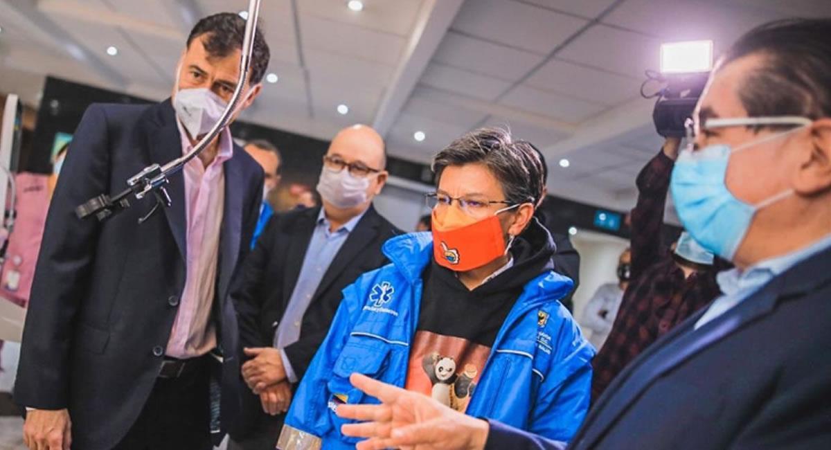 Los respiradores son necesarios para los pacientes de COVID-19. Foto: Twitter @MinSaludCol