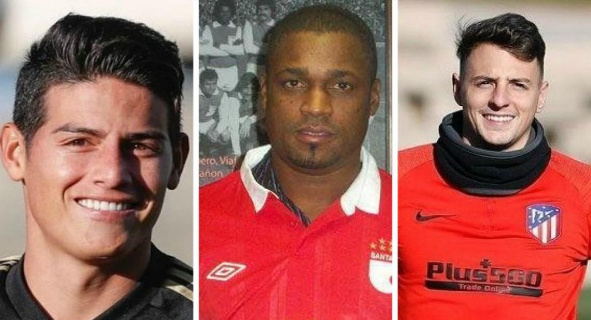 Leider Preciado critica a James y Arias. Foto: Instagram Prensa redes James, Arias y Preciado.