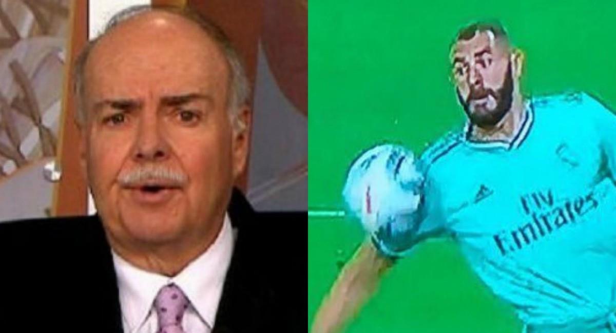 Iván Mejía y su polémico mensaje. Foto: Twitter Captura pantalla ESPN y Win Sports