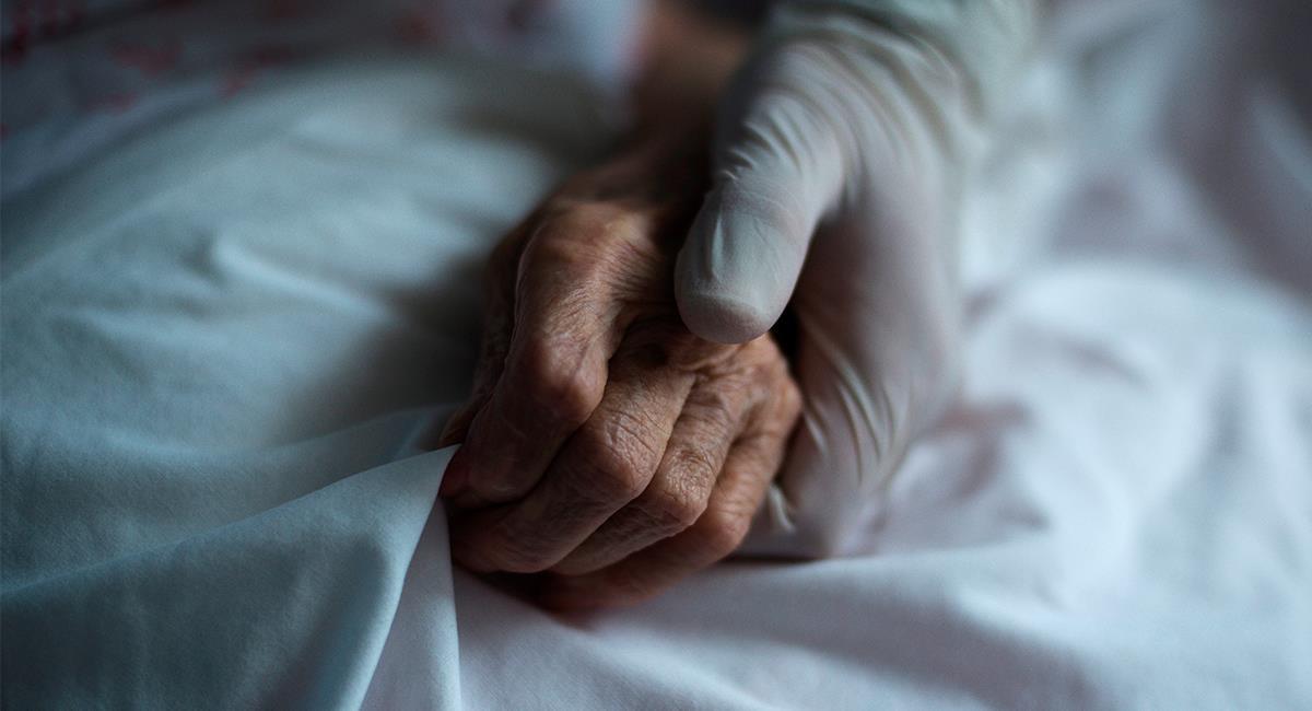 Las personas de la tercera edad son las más vulnerables al coronavirus. Foto: EFE