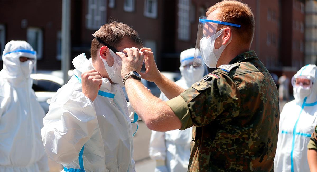 Alemania ha sido ejemplo en el manejo de la pandemia del COVID-19. Foto: EFE