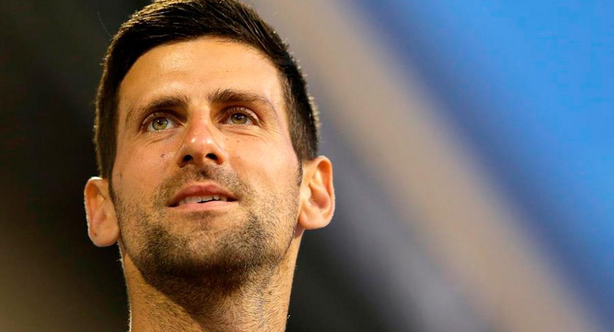 Novak Djokovic contagiado con coronavirus. Foto: EFE