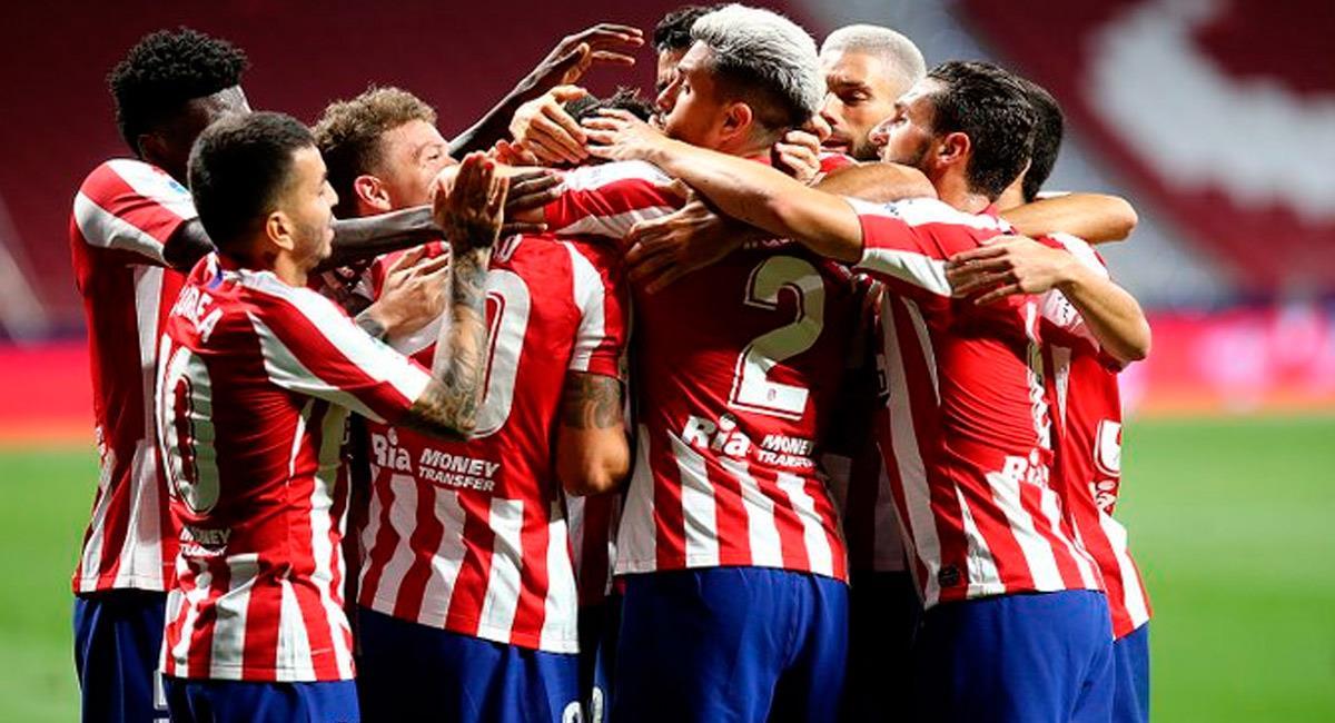 Atlético de Madrid sigue ascendiendo en la tabla de posiciones. Foto: Prensa Atlético de Madrid