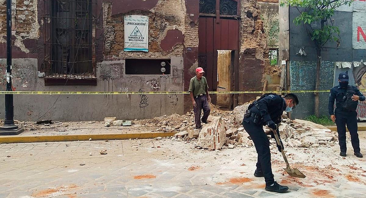 El fuerte terremoto en México tuvo como epicentro la región de Oaxaca. Foto: EFE