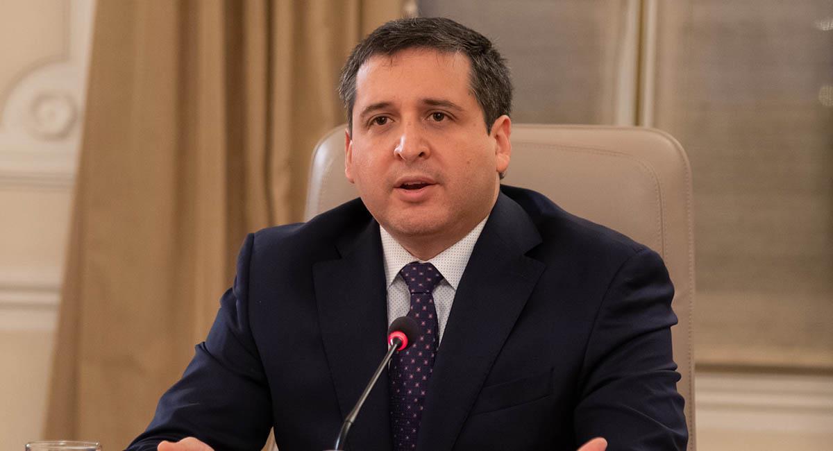 José Andrés Romero, director de la DIAN. Foto: Presidencia Colombia