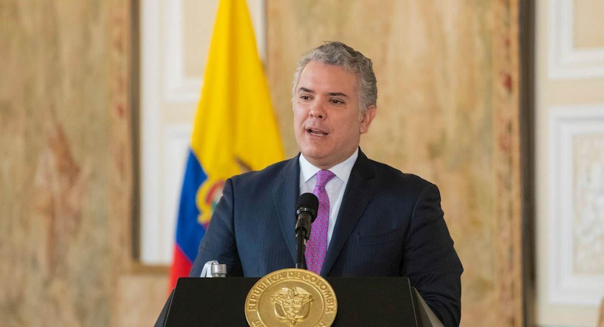 Iván Duque fue uno de los promotores de la cadena perpetua para abusadores de niños en Colombia. Foto: EFE