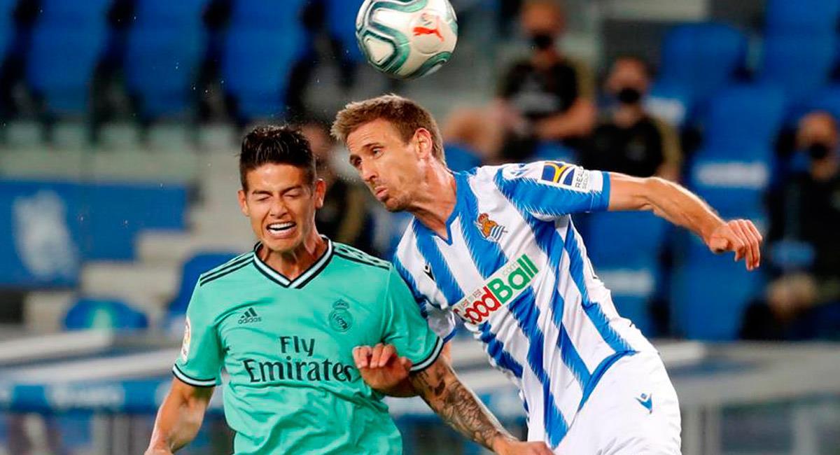 James será suplente ante Mallorca. Foto: EFE