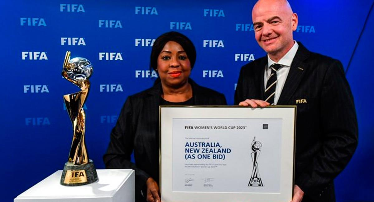 Gianni Infantino, presidente de FIFA. Foto: Prensa FIFA