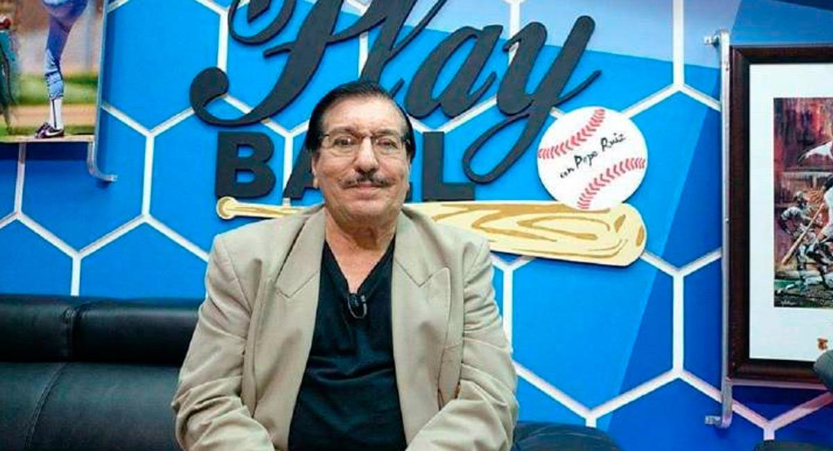El periodista deportivo era conocido como Pepe Ruíz. Foto: Reproducción Internet