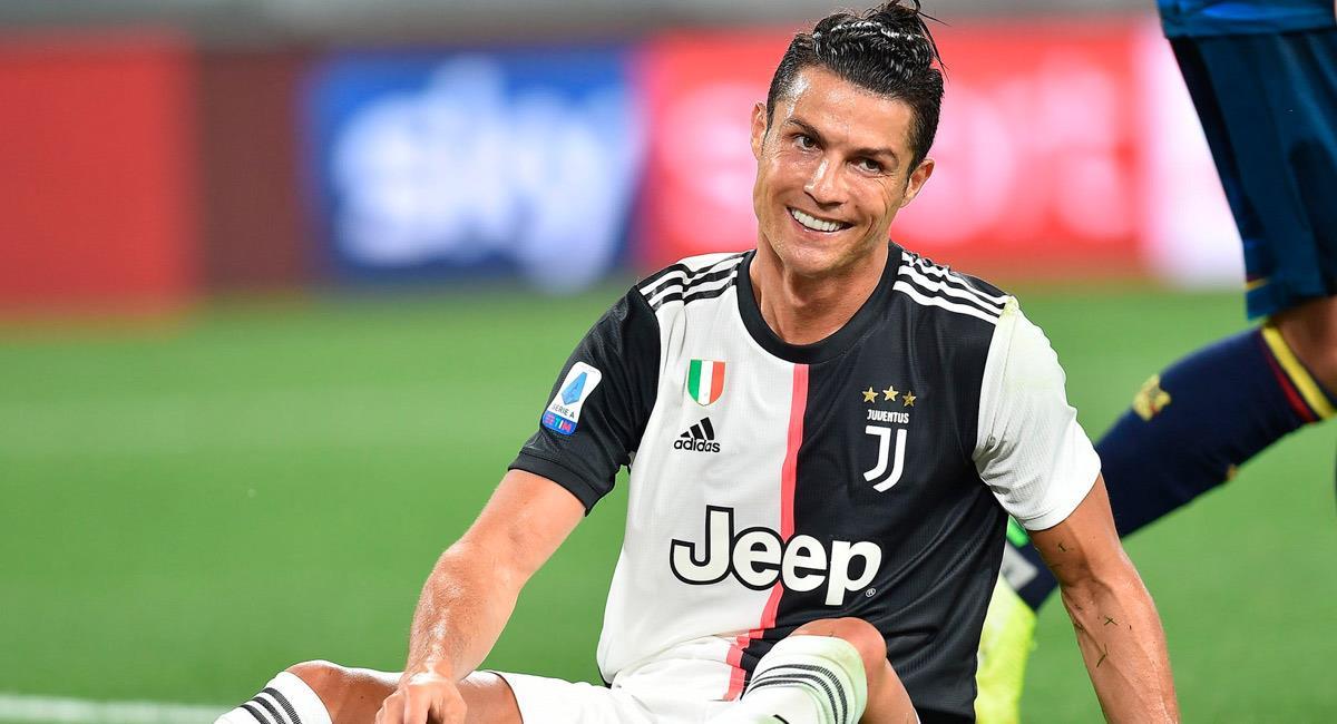 Cristiano Ronaldo, jugador de Juventus. Foto: EFE