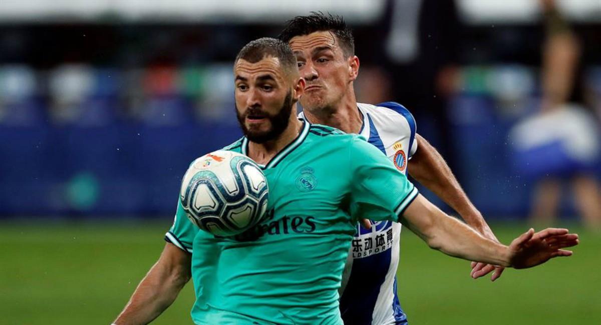 Real Madrid venció a Espanyol. Foto: EFE