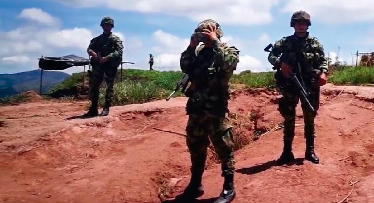 Los militares habrían intentado huir. Foto: Twitter @AscamcatOficia