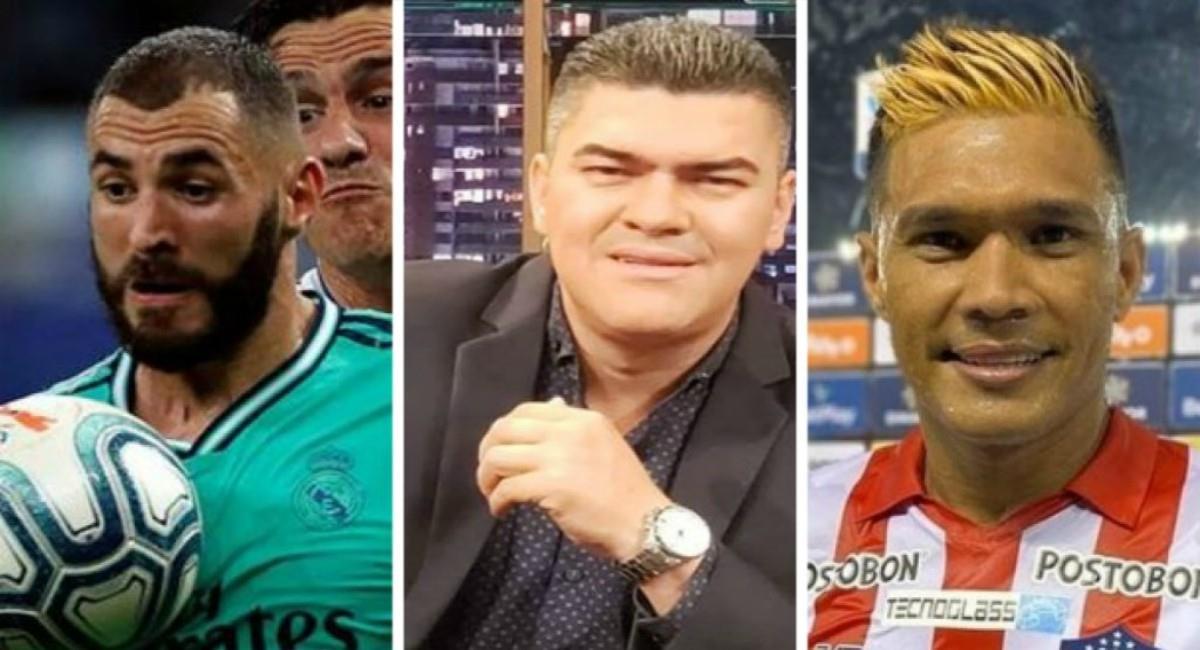 Eduardo Luis compara a Benzema y Teófilo. Foto: Twitter Prensa redes Eduardo Luis, Teófilo y EFE