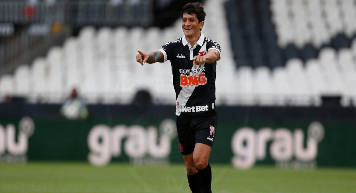 Gano goleador en Brasil. Foto: Twitter Prensa redes Vasco da Gama