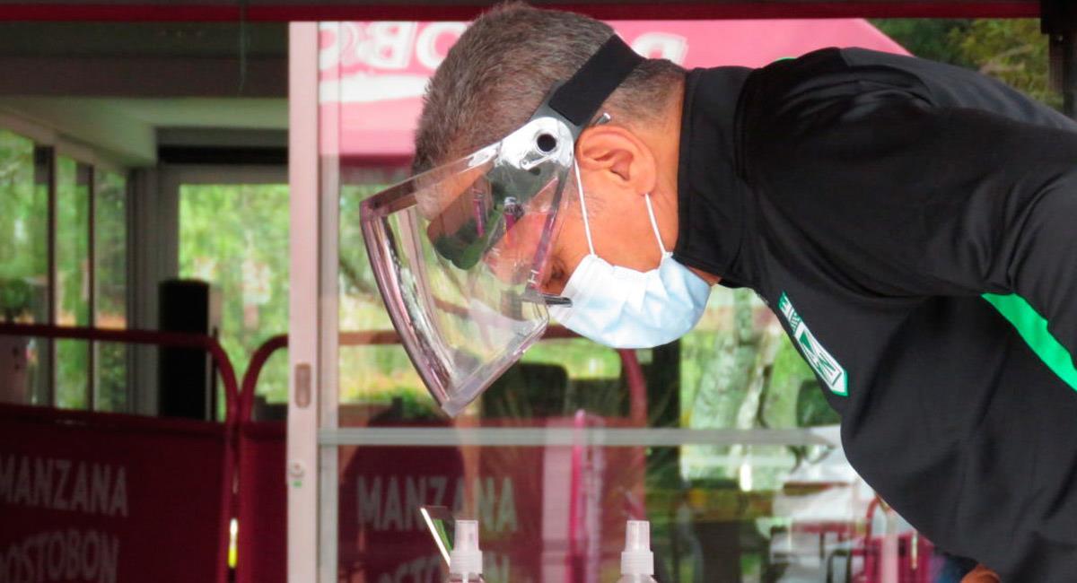 Atlético Nacional realizó pruebas y hubo resultados positivos por coronavirus. Foto: Prensa Atlético Nacional