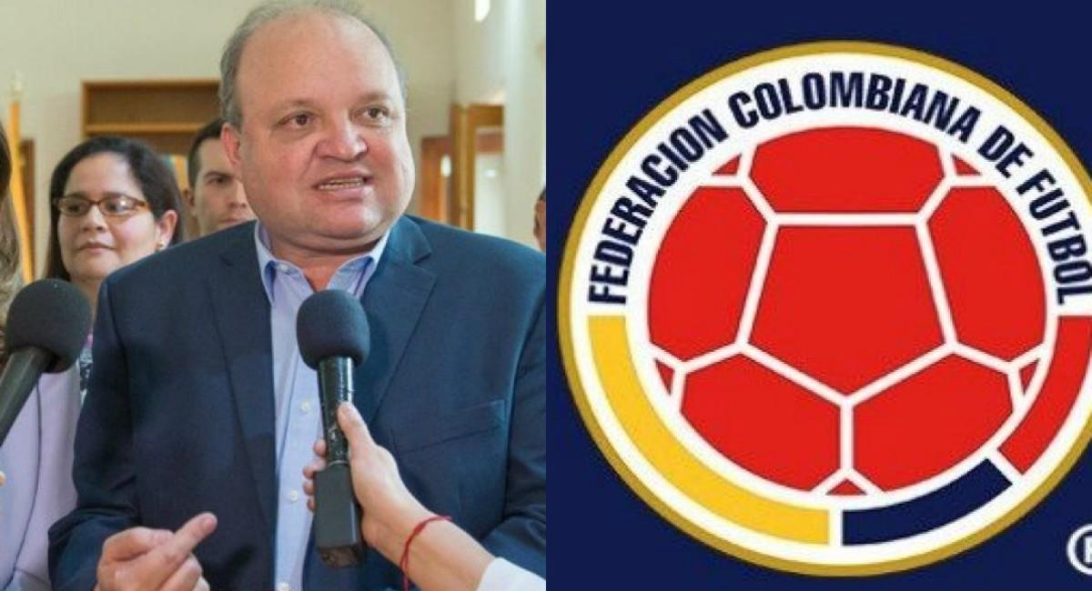 Jorge Enrique Vélez podría asumir la FCF. Foto: Twitter Prensa redes Dimayor y FCF