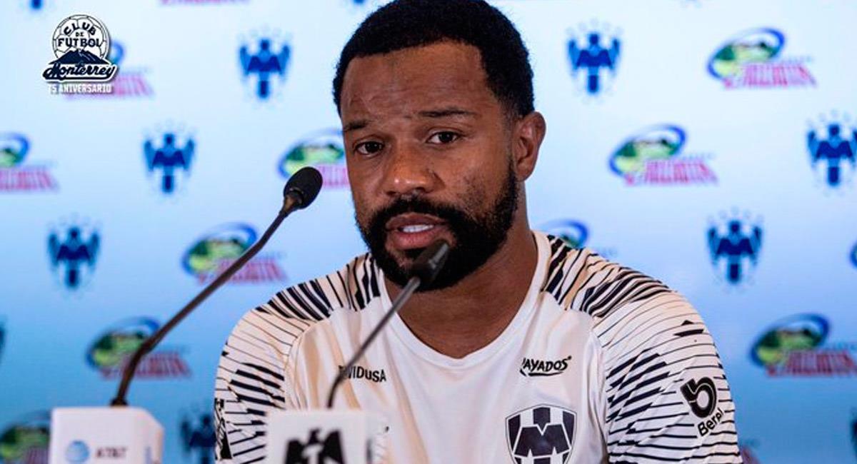 Dorlan Pabón, jugador colombiano en México. Foto: Prensa Rayados de Monterrey