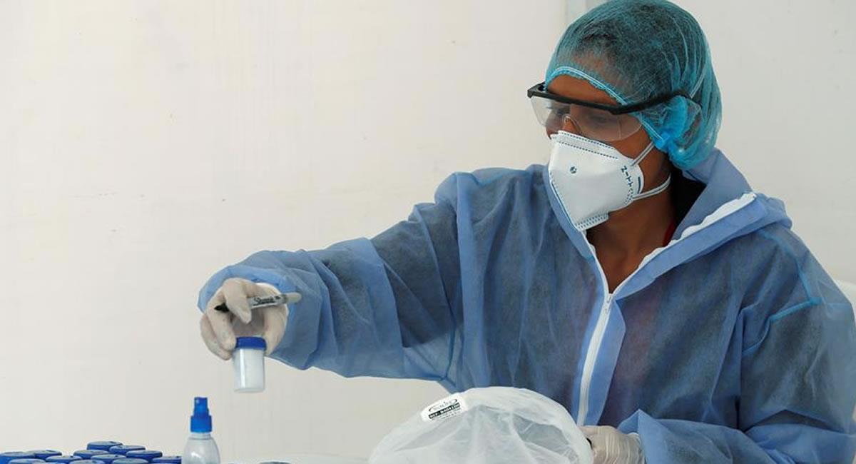 Los expertos en epidemiología aseguran que el pico del contagio sería a finales de este mes. Foto: EFE