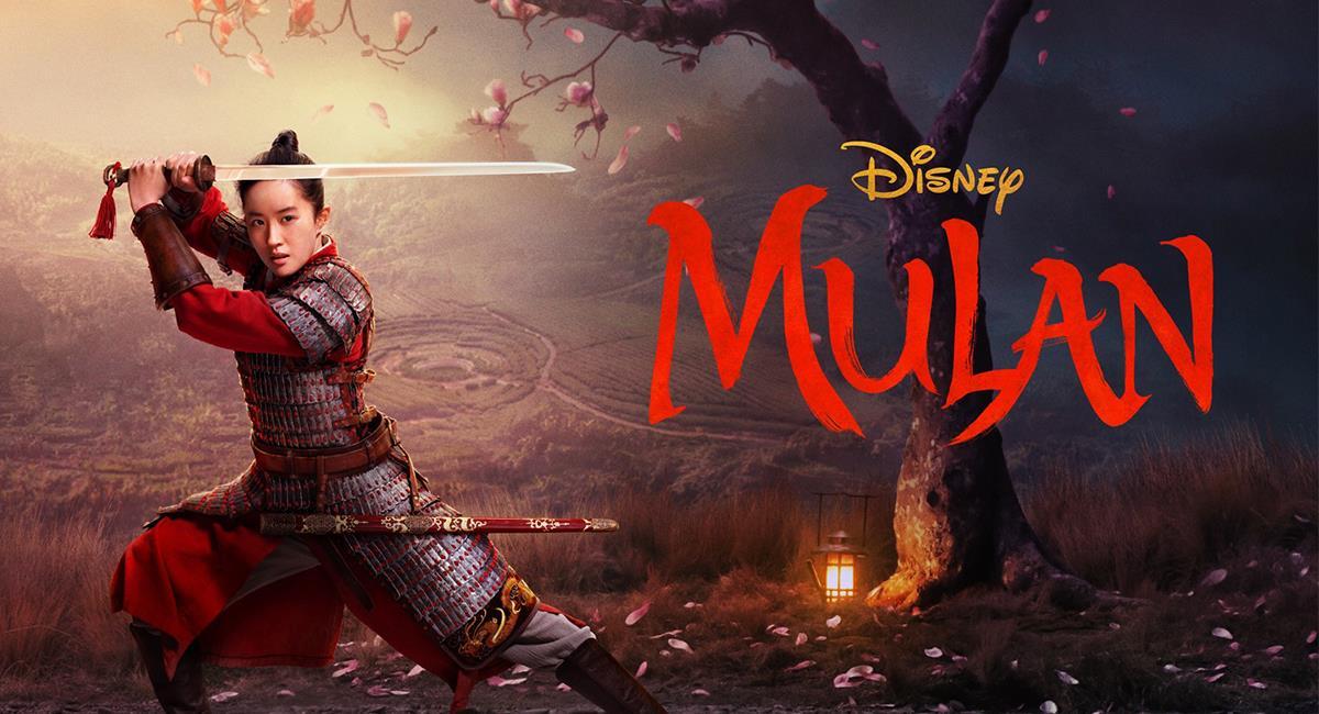"""""""Mulan"""" es el nuevo remake de Disney. Foto: Twitter @DisneysMulan"""