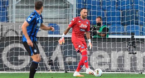 Nápoles dio a conocer el estado de salud de David Ospina