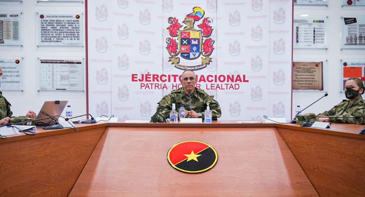 El sargento retirado, tenía 18 años de carrera militar. Foto: Twitter @COMANDANTE_EJC