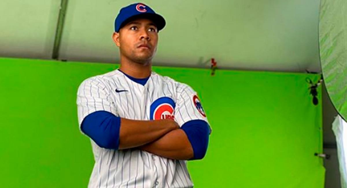 José Quintana, jugador de los Chicago Cubs. Foto: Instagram Oficial @jose_quintana24