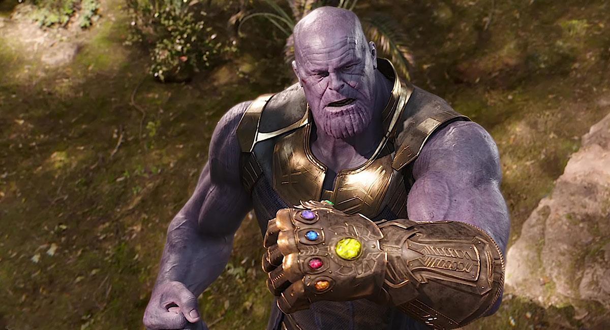 Thanos logró recolectar las Gemas del Infinito en Infinity War. Foto: Twitter @MarvelStudios