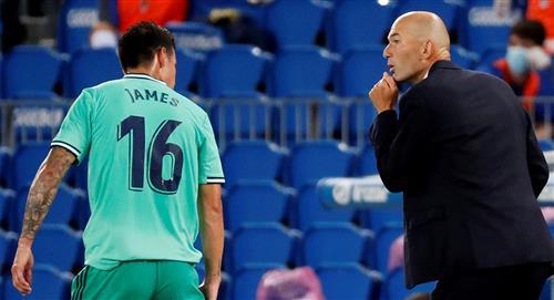 James, fuera de la convocatoria de Real Madrid