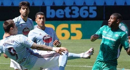 Murillo fue titular en la igualdad entre Celta y Betis