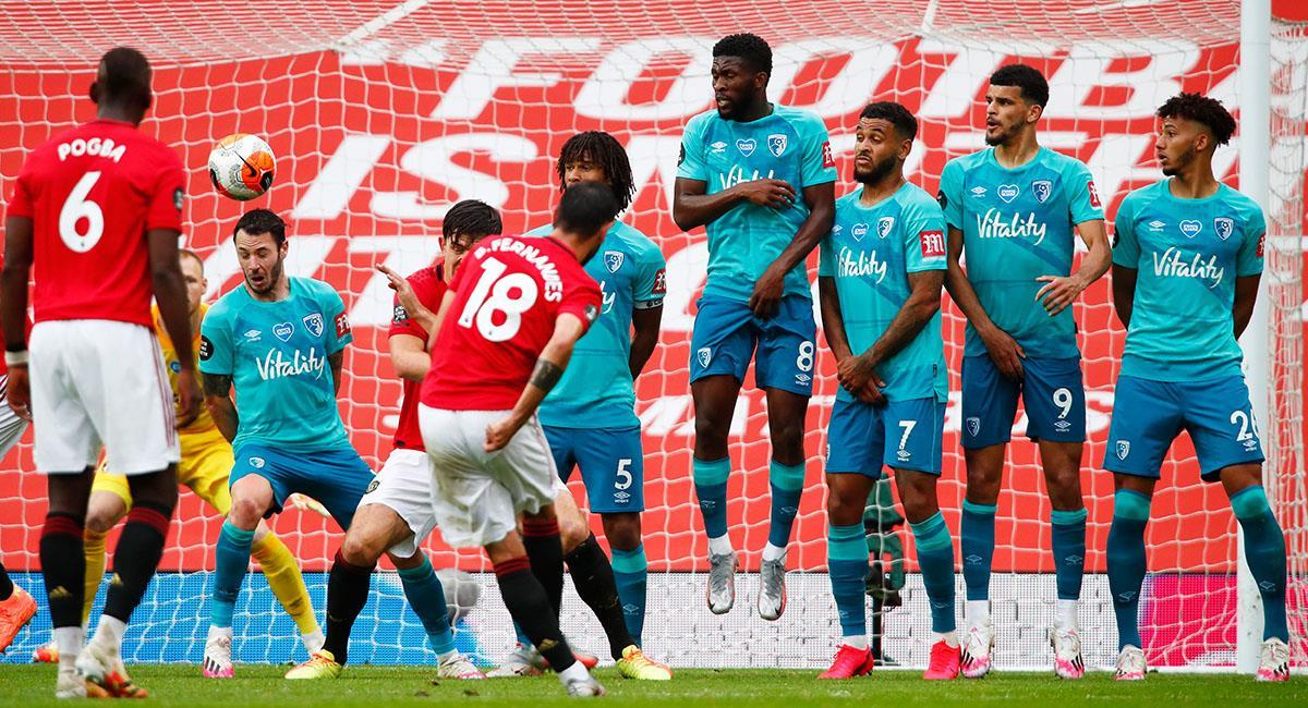Bournemouth está a un paso de descender en la Premier League. Foto: EFE