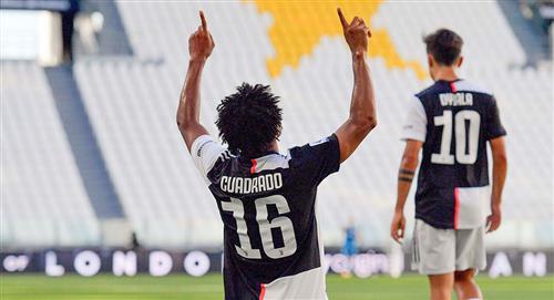[Video] El gran gol de Cuadrado ante Torino