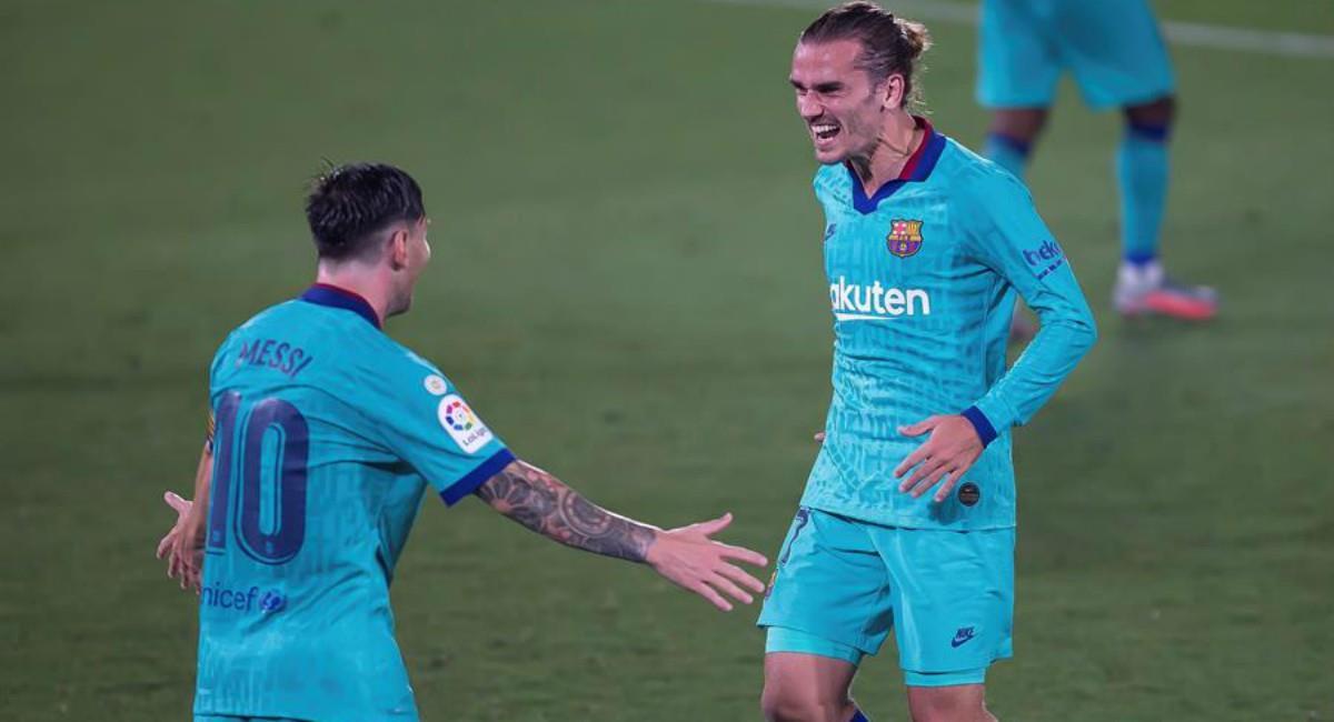 Barcelona venció a Villarreal. Foto: EFE