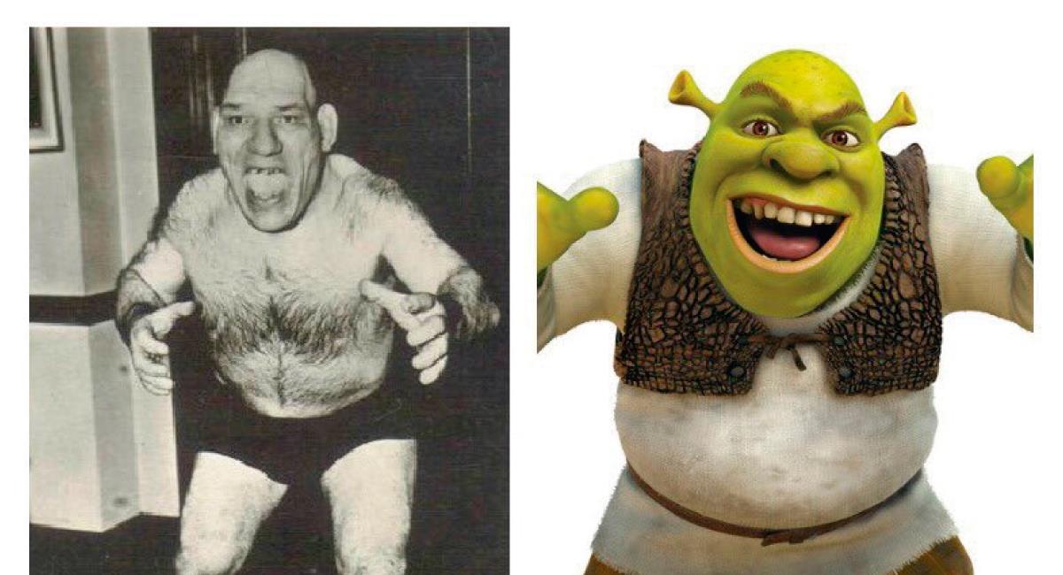 La infortunada historia de Maurice Tillet, el hombre que inspiró 'Shrek'