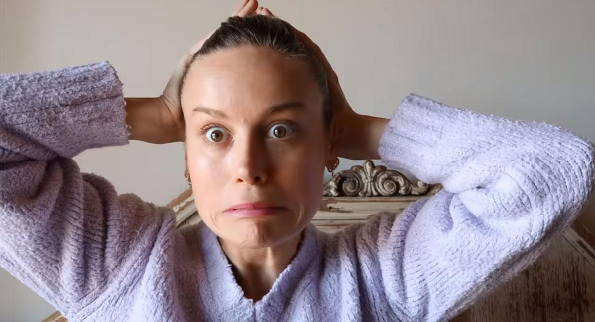 Brie Larson quiere brillar también en YouTube. Foto: Caputa Youtube Brie Larson