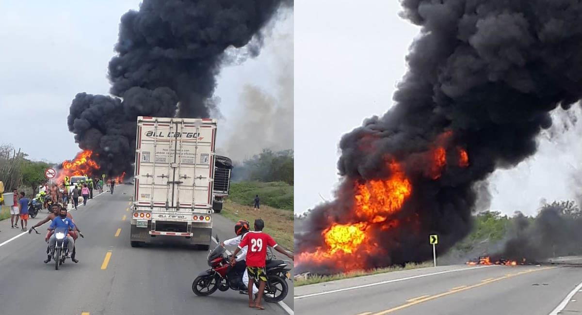 Son al menos 45 los heridos que dejó este accidente. Foto: Twitter / @AABenedetti - fabian_bolano