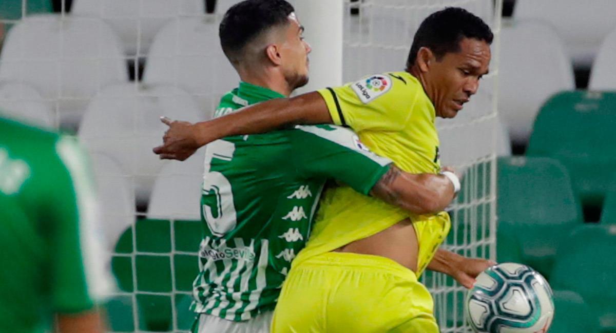 Carlos Bacca, salió lesionado en el partido ante Barcelona. Foto: EFE