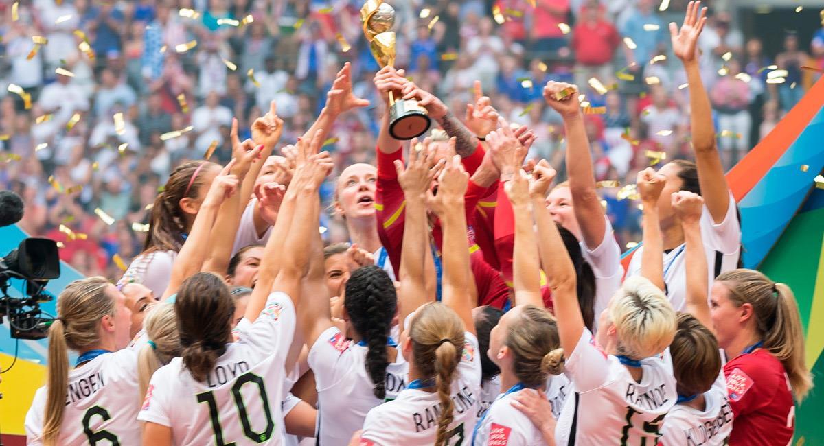 Estados Unidos se coronó campeón en el Mundial 2019. Foto: Prensa @USWNT