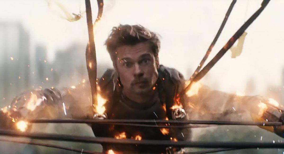 "Brad Pitt apareció brevemente en ""Deadpool 2"". Foto: Twitter @deadpoolmovie"