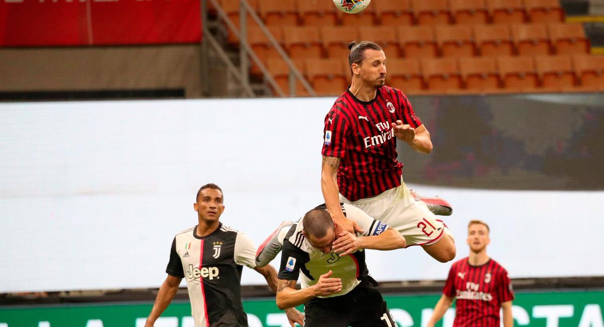 Ibrahimovic fue figura en el partido ante Juventus. Foto: EFE
