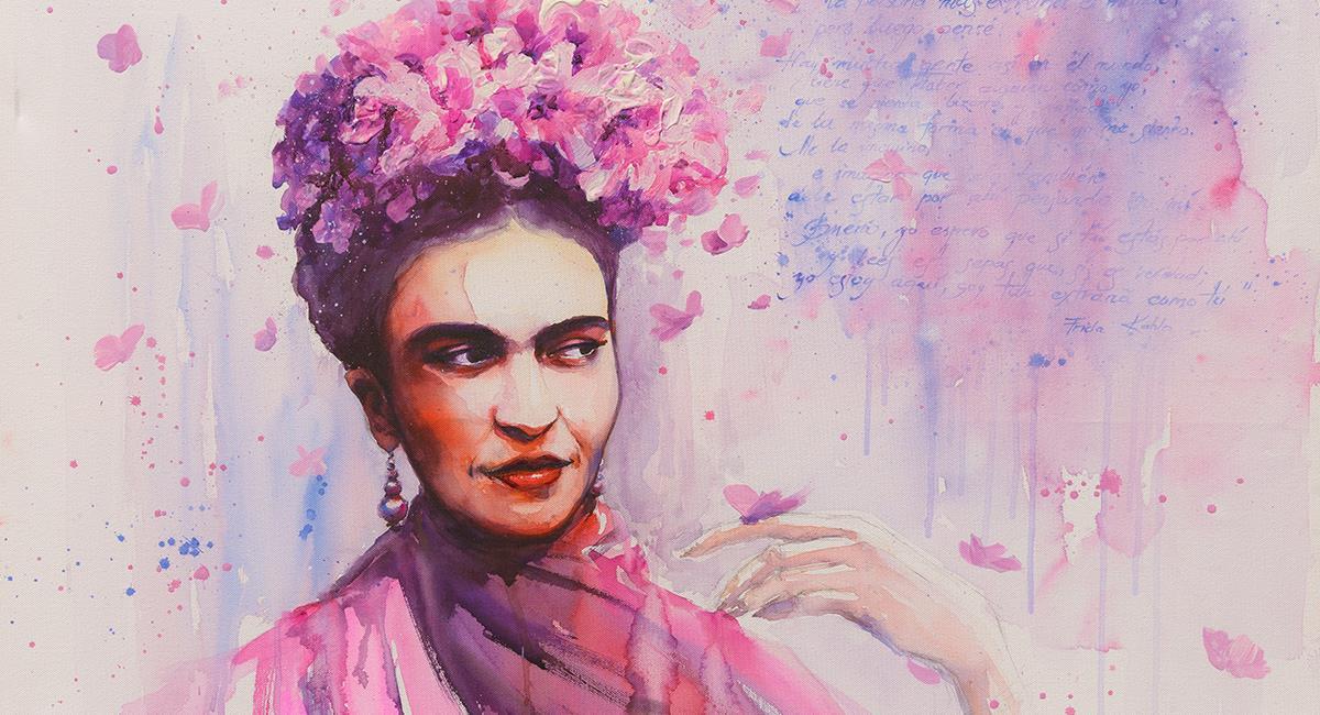 Conmemoración a Frida Kahlo a sus 113 años de nacimiento. Foto: Shutterstock