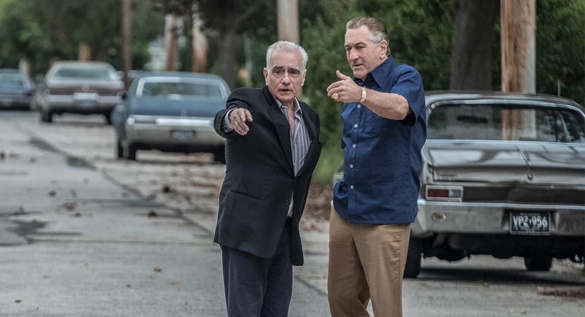 El último trabajo de Scorsese fue en