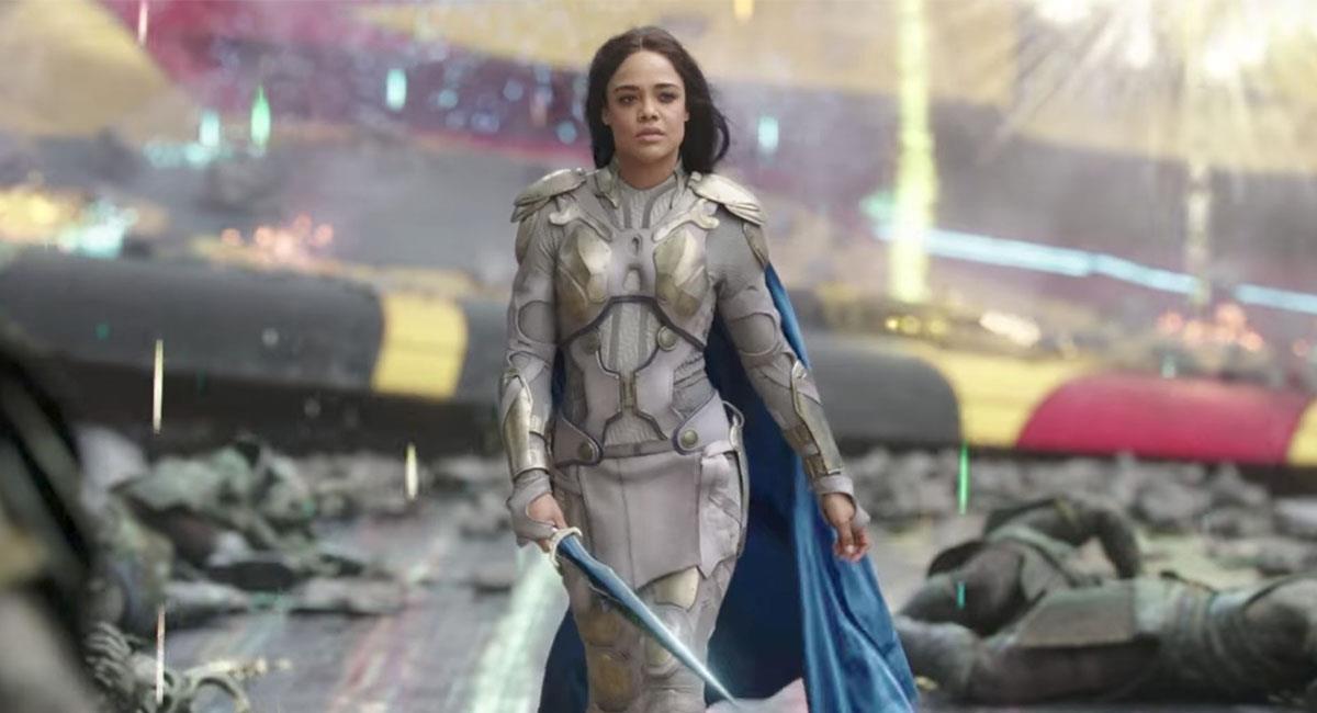 Tessa Thompson es quien interpreta a Valquiria en Marvel Studios. Foto: Twitter @thorofficial